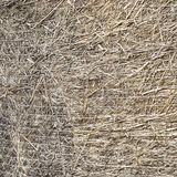 Straw bale,. Brown straw bale,  texture  background Stock Images