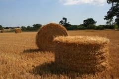 Straw Bale 3 Stock Photos