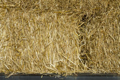 Straw Bale Closeup royalty-vrije stock foto's