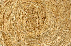 Straw bale farm background Stock Image