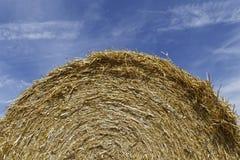 Straw bale Stock Image