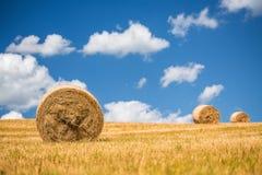 Straw Bales Fotografie Stock