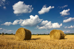 Straw Bales Imagens de Stock Royalty Free
