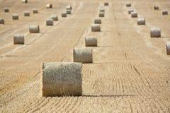 Straw Bales Lizenzfreies Stockfoto