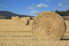 Straw Bales Lizenzfreies Stockbild