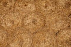 Straw Bales Background Imagen de archivo libre de regalías