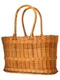 Straw basket Royalty Free Stock Photos