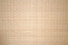 Straw mat for subject shooting royalty free stock photography
