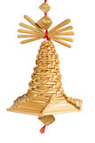 Straw bell Royalty Free Stock Image