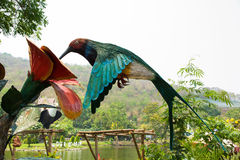 Straw Bird Stock Photography