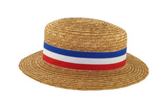Straw Boater Royalty Free Stock Photography
