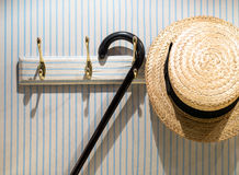 Straw Boater Scene (2) photographie stock