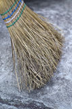 Straw Broom Royalty Free Stock Images
