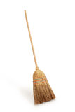 Straw broomstick Royalty Free Stock Photo