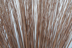 Straw broomstick Royalty Free Stock Image
