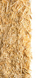 Straw with copy space Stock Images