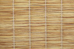Straw curtain texture. Close-up shot stock images