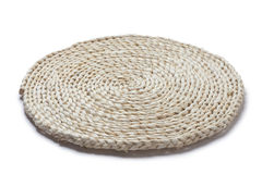 Straw cushion Stock Image