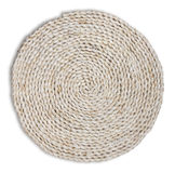 Straw cushion Stock Images