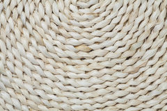 Straw cushion texture Stock Photography