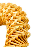 Straw decoration Stock Images