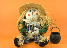 Straw doll Royalty Free Stock Photo