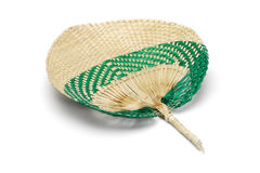 Straw fan Stock Photo