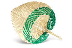 Straw Fan Stock Image