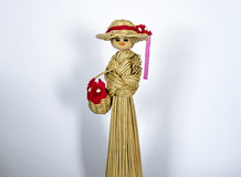 Straw figure Royalty Free Stock Image