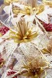 Straw Flowers Imagen de archivo libre de regalías