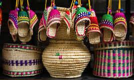 Straw Handicrafts Jinli Street Sichuan China Royalty Free Stock Photo