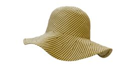 Straw hat. Royalty Free Stock Photography