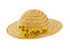 Straw Hat stock image