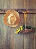Straw Hat stockbild