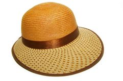 Straw hat Royalty Free Stock Image