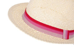 Straw Hat Border Royalty Free Stock Photo