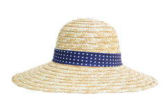 Free Straw Hat Isolated Stock Image - 75014321