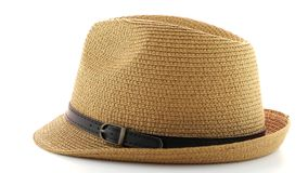 Straw hat stock video footage