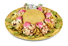 Straw hat 2 Royalty Free Stock Image