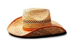 Straw hat.Men's hats Royalty Free Stock Photo