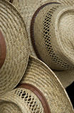 Straw hat pattern Stock Photos