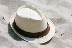 Straw Hat, summer concept. stock images