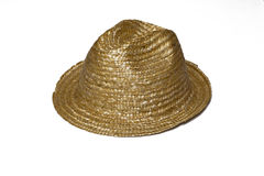A straw hat Royalty Free Stock Photography
