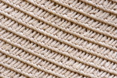Straw hat texture closeup Royalty Free Stock Photo