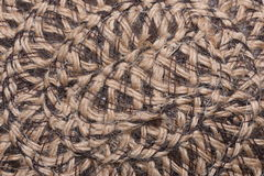 Straw hat texture closeup Royalty Free Stock Images