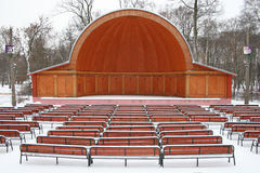 Straw-hat theatre Stock Photo