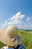 Straw Hat, Royalty Free Stock Images