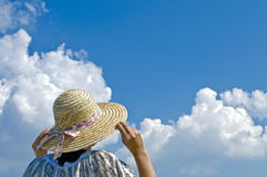 Straw Hat, Stock Photography