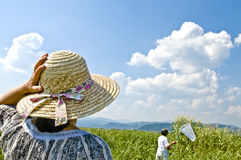 Straw Hat, Stock Image
