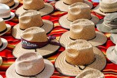 Straw Hats stock image